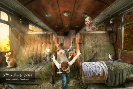 Long Lost Train by lillan