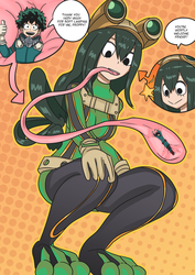 Froppy the lifesaver by GreenMatcha
