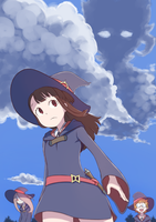 Akko and Friends by Paintsu