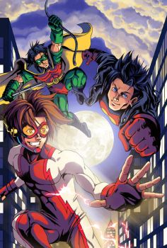 Young Justice by Risachantag