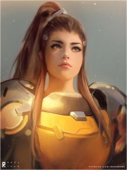 Brigitte : YouTube! by rossdraws