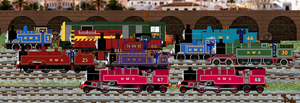 New Friends, New Adventures, New Sodor by Galaxy-Afro