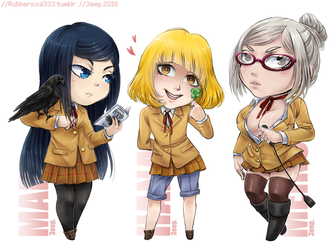 Underground Student Council by Naikoworld