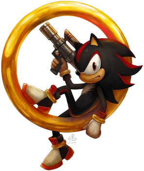 Shadow the Hedgehog by Ry-Spirit