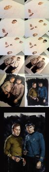 Kirk and Spock Step by Step by gattadonna