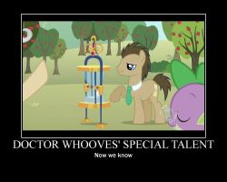 Doctor Whooves Demotivational by Norcon72