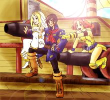 Skies of Arcadia Tribute by ObstinateMelon