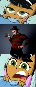 Welcome to your Nightmare (Freddy Krueger version) by TheNoblePirate