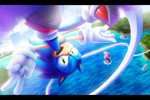 Sonic Unleashed | Apotos by Kelskora