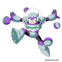 Orbit Woman (Mega Man Shattered Diamond) by KarakatoDzo