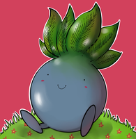 Oddish by ice-cream-skies