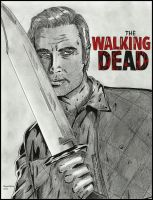 the Governor (the Walking Dead) by MayaOsina