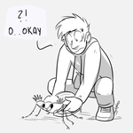 Jake and Wesley by TinyFeatherpants
