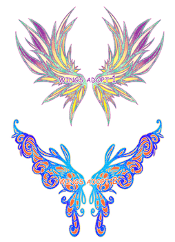 [CLOSED] Wings adopt by vicifashion