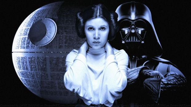 Carrie Fisher Princess Leia XXIV by Dave-Daring