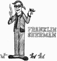 Franklin Sherman- Break Time Sketches by jamesgannon
