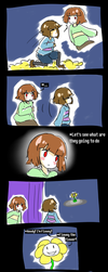 Undertale - they'd die without me by AremiAltaria-san
