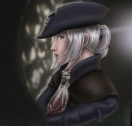 Lady Maria of the Astral Clocktower by HKDrawing