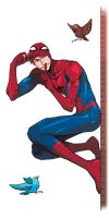 Spider-Man (Peter Parker) by cancannon