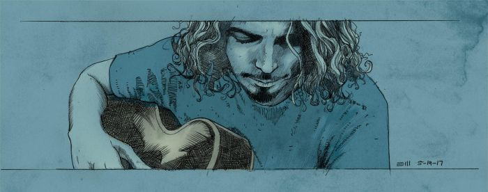 Chris Cornell by ezy-e