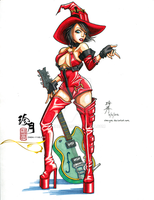 I-no - Guilty Gear by zhenyue