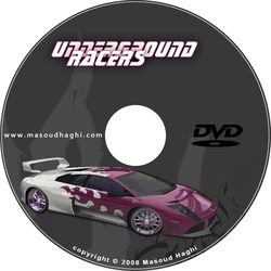 Underground Racers DVD Cover by masoudhaghi