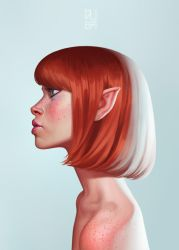 Pixie Portrait by DanielaUhlig