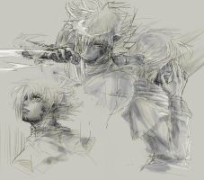Zel - rough sketch by 6elz