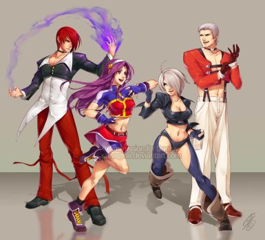 CMSN - King of Fighters by SaiyaGina