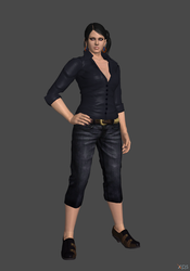 Zafina casual outfit concept by Hmwfatal