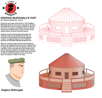 Cabin Concept - Dogface McDougall's Yurt by CaptainRedblood