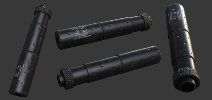 5.56mm Nato Silencer by ImBrokeRU