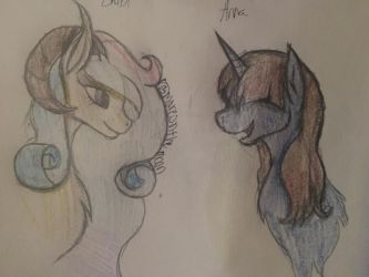 Two Friends (Contest Entry) by MareOnTheMoon