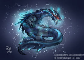 Monster Hunter - Abyssal Lagiacrus by SilverCrow95