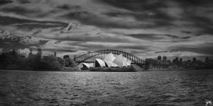 Sydney Opera House - Deep Infrared by SteveCampbell