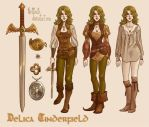 Delica Tinderfield by CrystalCurtisArt