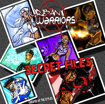 UW Secret Files Mock Cover by TreStyles