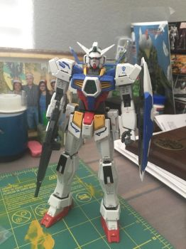 MG Gundam Age 1 Normal by XrosBrony