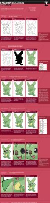 Fakemon Coloring Tutorial by zerudez