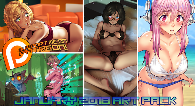 Patreon January 2018 Art Pack! by MLeth
