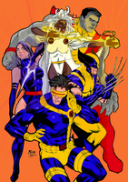 X-MEN Color by arissuparmanart