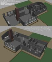 My Home when I was young in 3D by RaptorArts