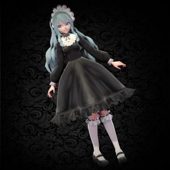 (Tda Miku) Old School Lolita - DOWNLOAD by YamiSweet