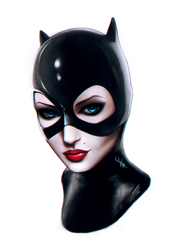 Catwoman by junkome