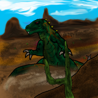 Destroy All Monsters: Gorosaurus by The-Great-MM