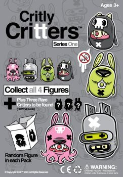 Critly Critters by cronobreaker