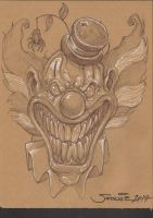 Clown by SamwiseDidier