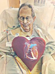 My Father After Open Heart Surgery by CharlesWayneRobinson