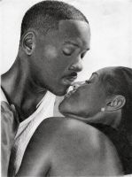 Will Smith and wife by depoi