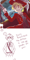 Don't make me go pirate on you Alfred by AeroEiko